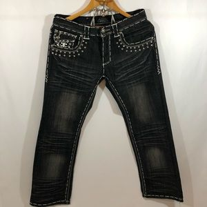 Other - Jeans with diamonds size W32 L30